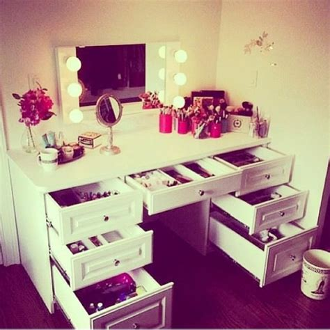 How To Make A Makeup Vanity Desk by Makeup Vanity Desk And Drawers Make Me Make Up