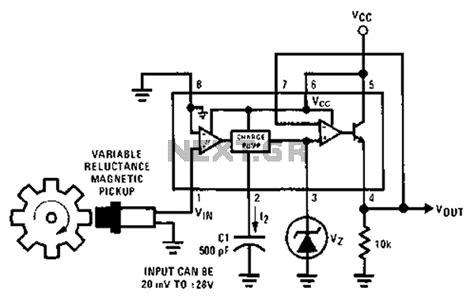 multiplier circuit diagram gt meter counter gt tachometer circuit diagram of a