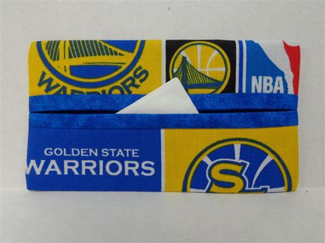 Gifts Designed For Mba Golden State Warriors by Golden State Warriors Tissue Cozy Gift Card Holder