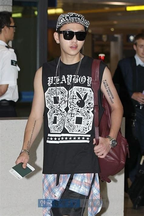 5 11 Beast Millitary Brown 18 k pop who rock badass tattoos