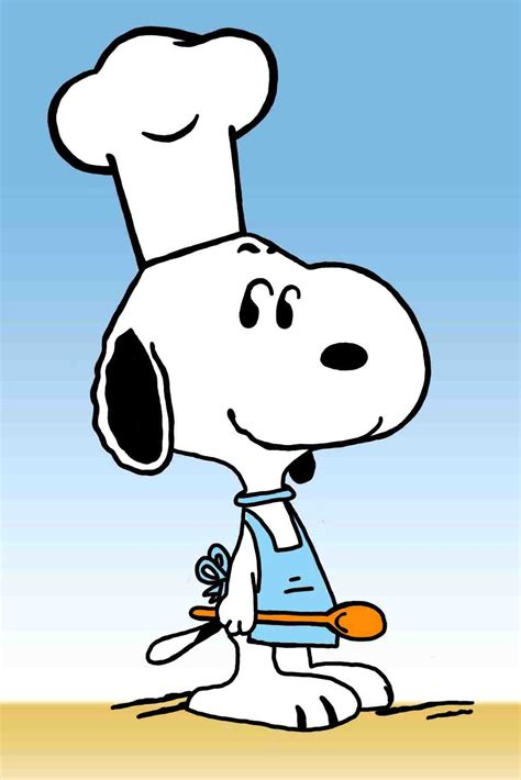 snoopy clipart tonito s corner snoopy the chef clip clipart best
