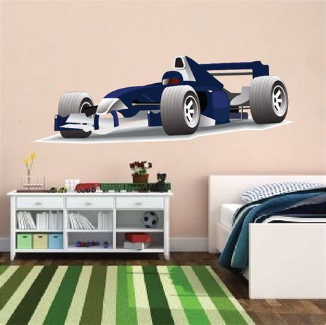 race car wall mural race car decal sports wall decal murals primedecals
