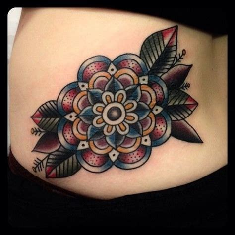 american traditional flower tattoo 25 best ideas about traditional flower tattoos on