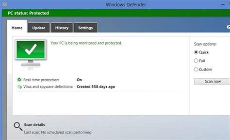 windows 8 defender turn on windows 8 turning on windows defender