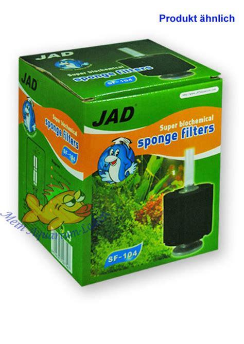 Lu Uv Buat Aquarium sf104 jad schwammfilter bio chemisch aquarium innenfilter
