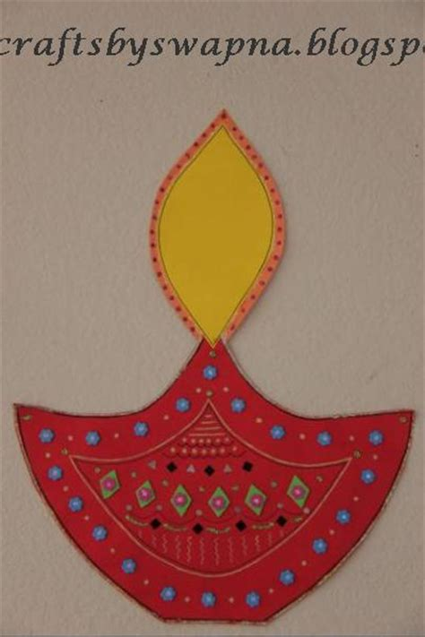 Paper Craft Ideas For Diwali - my craft ideas diwali diyas