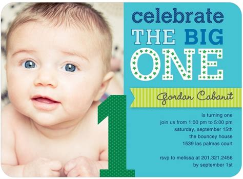 Kids Color Scheme by First Birthday Party Invites For A Boy Tiny Prints