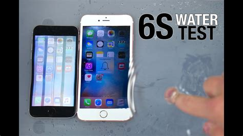 r iphone 6 waterproof iphone 6s iphone 6s plus water test waterproof