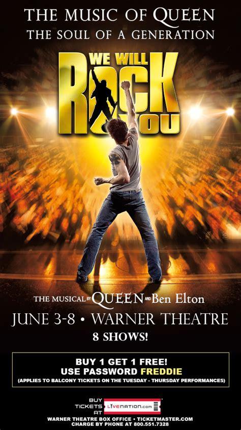 rock   musical  queen ben elton warner