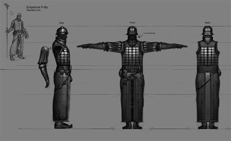 Side Designs emperors folly model sheet by crayonmechanic on deviantart