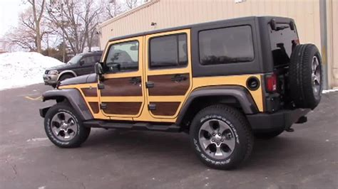wood panel jeep wood panel graphics kit 1 for jeep wrangler unlimited