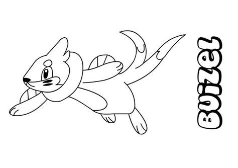 buizel coloring pages hellokids com