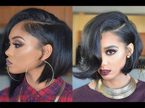 cute bob hairstyles youtube cute short bob hairstyles and haircuts for black women
