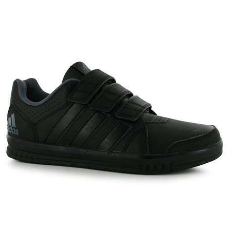 adidas lk turn 7 cf court trainers velcro sports shoes childrens boys ebay