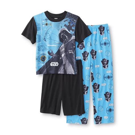 pajama shorts for boys lucasfilm wars boy s pajama shirt shorts