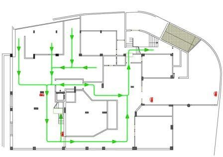 Fire Station Floor Plans by Emergency Escape And Fire Fighting Health And Safety