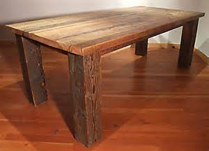 Barn Dining Room Table by 17 Best Images About Old Barn Wood Furniture On Pinterest