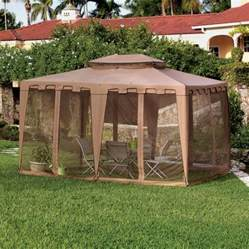 Nantucket Gazebo 10x10 by Gazebo Replacement Canopy Top And Replacement Tops