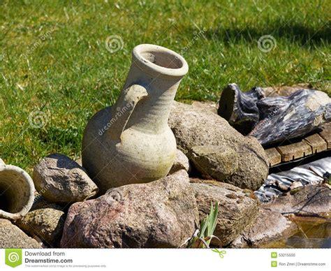 garden decoration jar garden decoration jar stock photo image 53215500