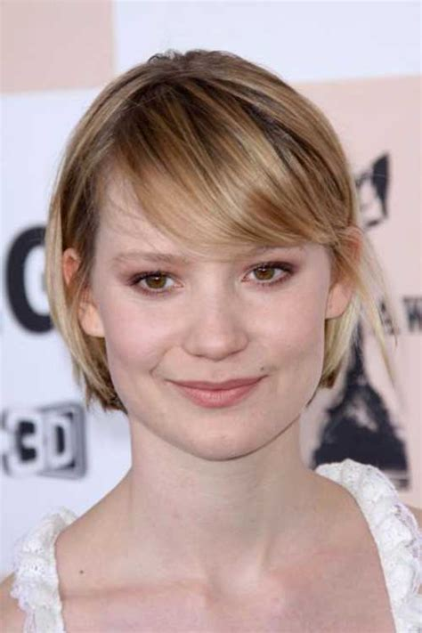 side bangs for thin hair best short haircuts for straight fine hair short
