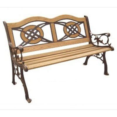 cast iron park bench replacement slats picture of dc america sl5780co br kokomo wood inlay park