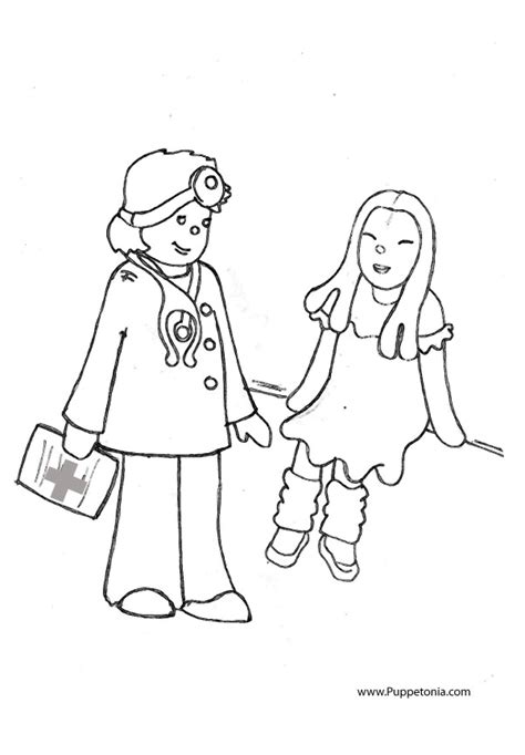 doctor coloring pages for kids az coloring pages