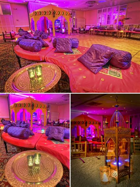 themed decor moroccan themed marquees