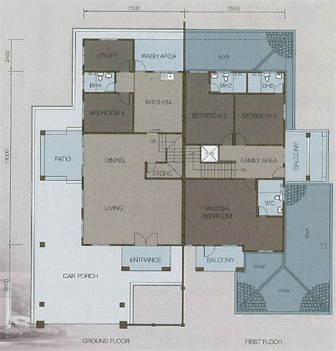 semi d house design semi d house design plan house design plans