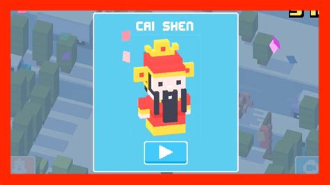 how to get a mystery characters unlock cai shen chinese mystery character crossy road