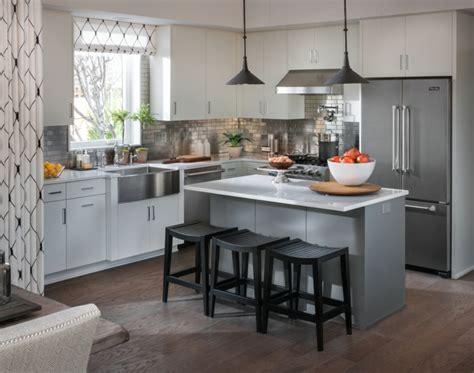 small kitchen island with stools modern buzzardfilm com moderne k 252 chen in edlen graunuancen