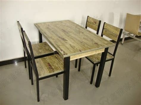 Meja Kayu Belanda model desain meja makan kayu jati minimalis terbaru terbaik