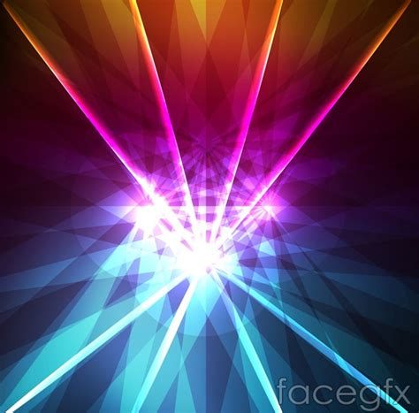 Fluorescent L Ppt by Fluorescence Gathered Background Vector Map