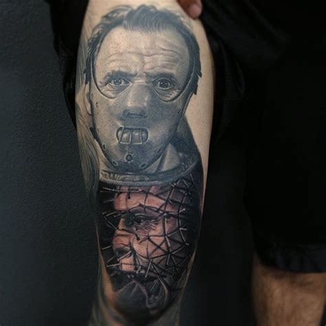 hellraiser tattoo pin by pie wacket on
