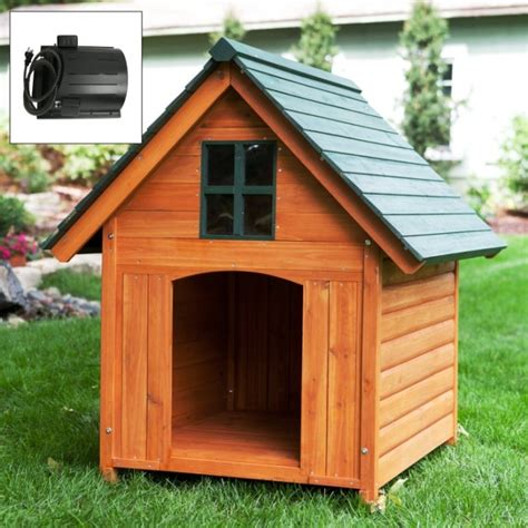 outdoor heated dog house heated dog house weather resistant wood large outdoor pet shelter cage kennel large