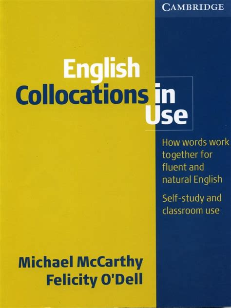 english collocations in use 0521707803 17 best images about collocations on language english language learning and graphics