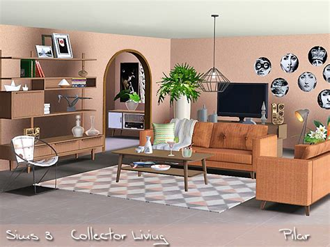 Sims 3 Living Room Sets Pilar S Collector Living