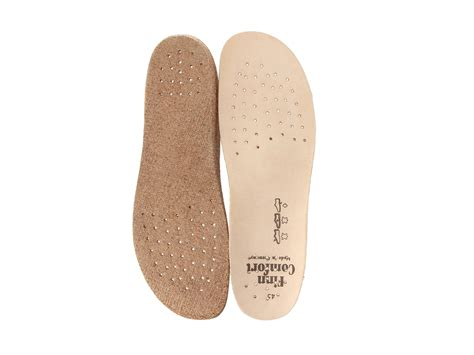 best shoe insoles for flat finn comfort classic flat insole at zappos