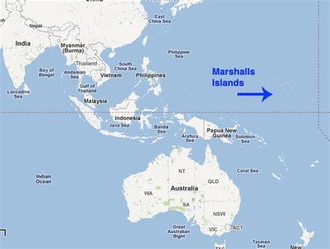 where are the marshall islands on a world map page not found ybw