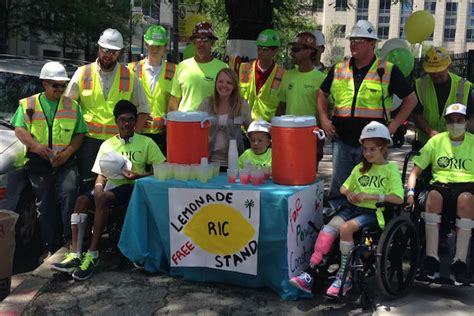Ric Detox Center by Ric S Littlest Patients Show Thanks Run Lemonade Stand