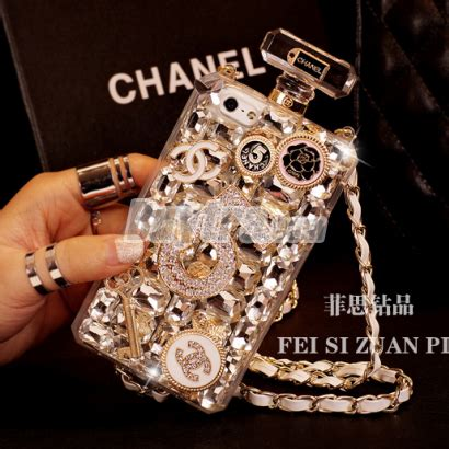 Samsung Galaxy S7 Edge Coco Chanel Water Glitter Bottle Berkualitas chanel perfum3d iphone 5 for by
