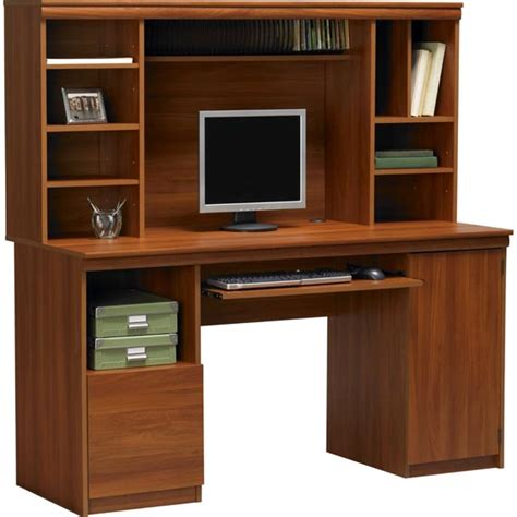 Black Computer Desk With Storage Office Desk With Hutch Storage Ameriwood Computer Desk With Hutch Modern Black Computer Desk