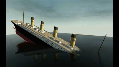 titanic film youtube sinking gmod titanic sinking youtube
