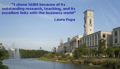 Nottingham Ningbo Mba by Inspiring Alumni Nottingham Business School