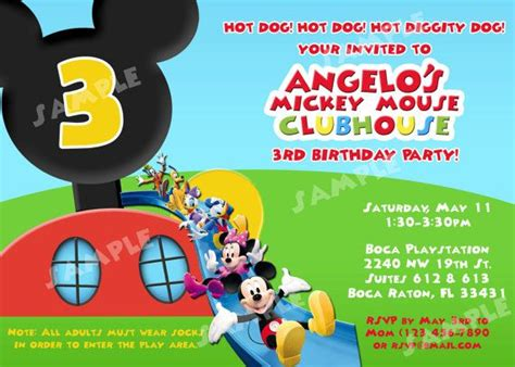 mickey mouse clubhouse templates 22 best mickey mouse clubhouse images on