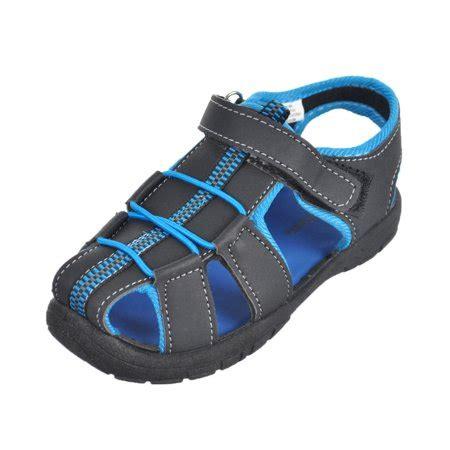 "rugged bear boys' ""cameron"" sandals (toddler sizes 5 10"