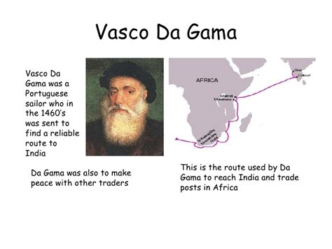 vasco da gama family early explorers 2