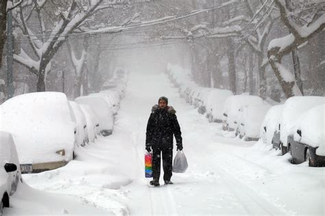 biggest blizzard east coast blizzard makes top 5 worst northeast snowstorms