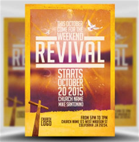 church flyer templates for photoshop flyerheroes