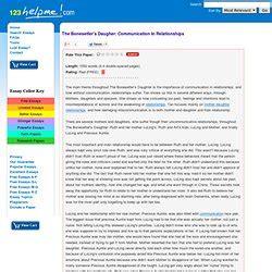 Bonesetters Essay by The Bonesetter S Novel Pearltrees