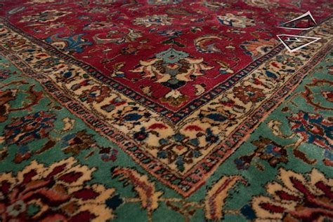 big rug tabriz square rug 11 x 12